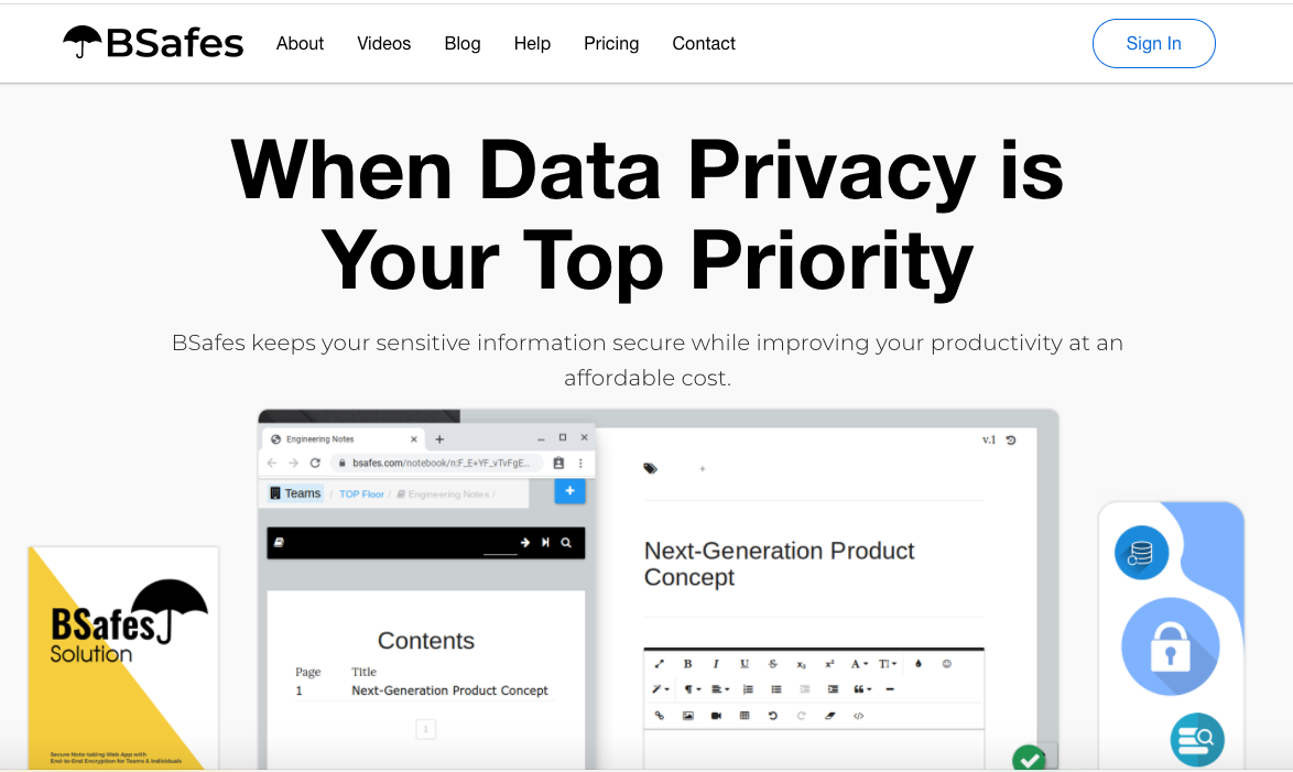 When Data Privacy is Your Top Priority