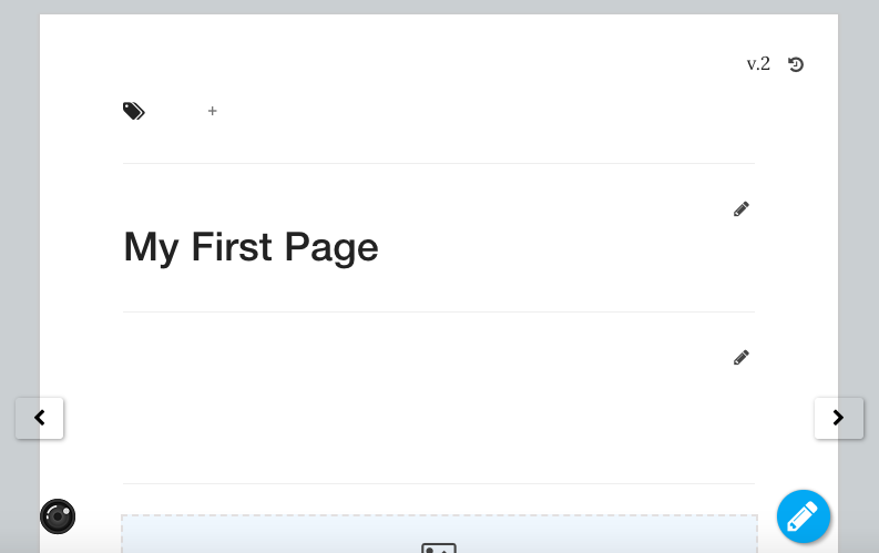 Add Content to a Page