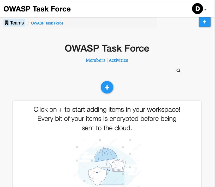 Team Workspace